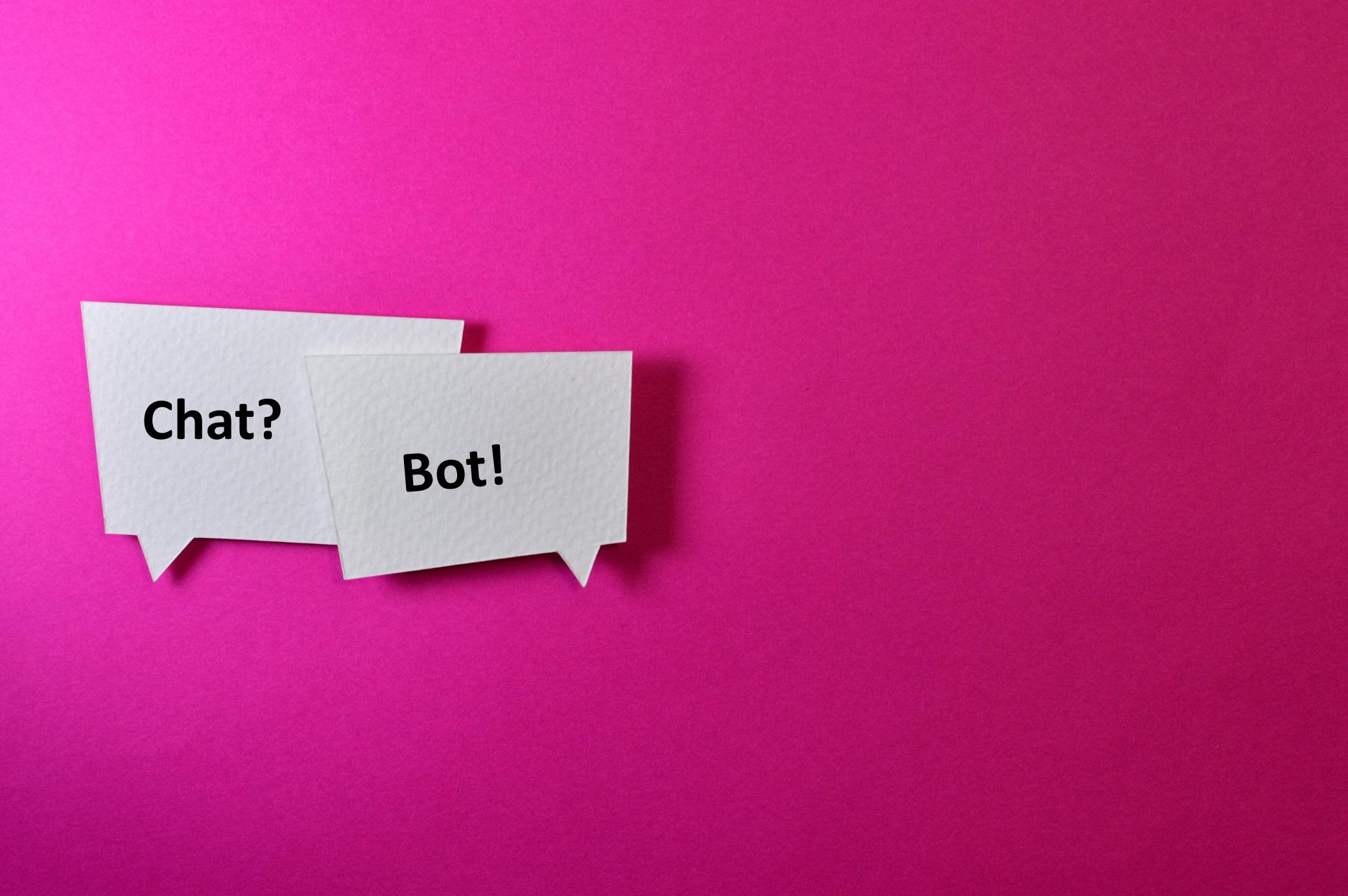 Chat? Bot! - Chatbots zur Marketing-Automation einsetzen.